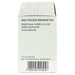 ANIS FENCHEL Kümmel Tee AFeKü Bio Salus Filterbtl. 15 Stück - Linke Seite