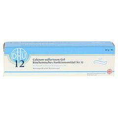 BIOCHEMIE DHU 12 Calcium sulfuricum D 4 Gel 50 Gramm N1 - Vorderseite