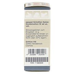 APOPET Sch��ler-Salze-Kombination W ad us.vet.Gl. 12 Gramm - Linke Seite