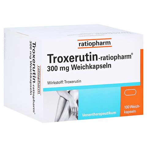 Troxerutin-ratiopharm 300mg 100 Stück