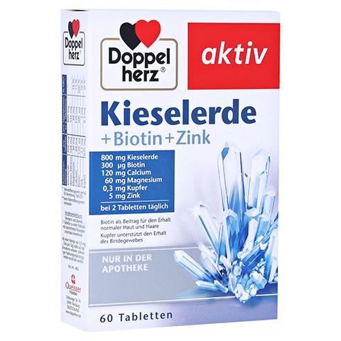 DOPPELHERZ Kieselerde+Biotin Tabletten 60 Stück