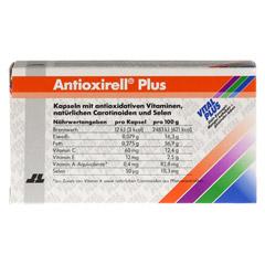 ANTIOXIRELL plus Kapseln 60 Stück - Rückseite
