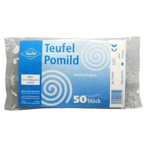 TEUFEL Pomild Analvorlagen 50 Stück