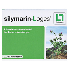 Silymarin-Loges 60 Stück - Vorderseite