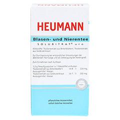 HEUMANN Blasen- und Nierentee SOLUBITRAT uro 60 Gramm - Rückseite