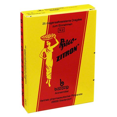 Bisco-Zitron magensaftresistent 25 Stück