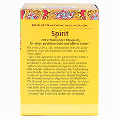 SPIRIT Kräutertee Bio Salus Filterbeutel 15 Stück - Rückseite