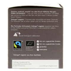 SIDROGA organic purer Optimismus Filterbeutel 12 Stück - Linke Seite