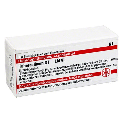 LM TUBERCULINUM GT VI Globuli 5 Gramm N1