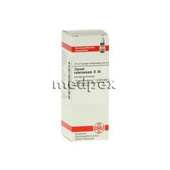 ZINCUM VALERIANICUM D 30 Dilution 20 Milliliter N1