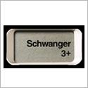 Clearblue Digital mit Wochenbestimmung Anzeigendisplay Schwanger 3+