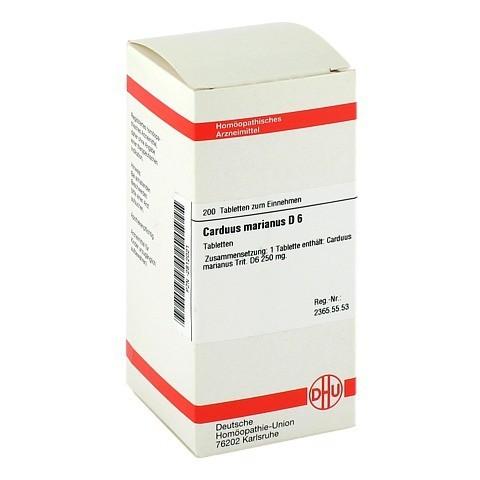 CARDUUS MARIANUS D 6 Tabletten 200 Stück N2