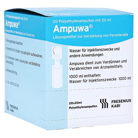 AMPUWA Plastikampullen Injektions-/Infusionslsg. 20x20 Milliliter N3