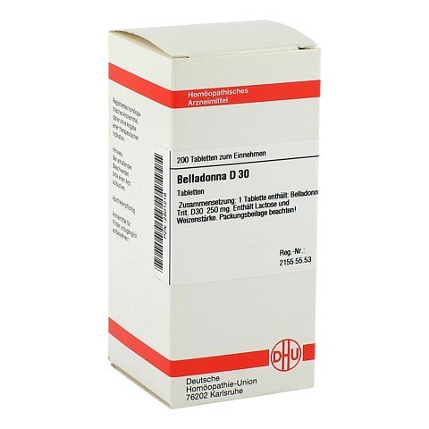 BELLADONNA D 30 Tabletten 200 St�ck