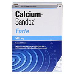 Calcium-Sandoz forte 500mg 5x20 Stück N3 - Vorderseite