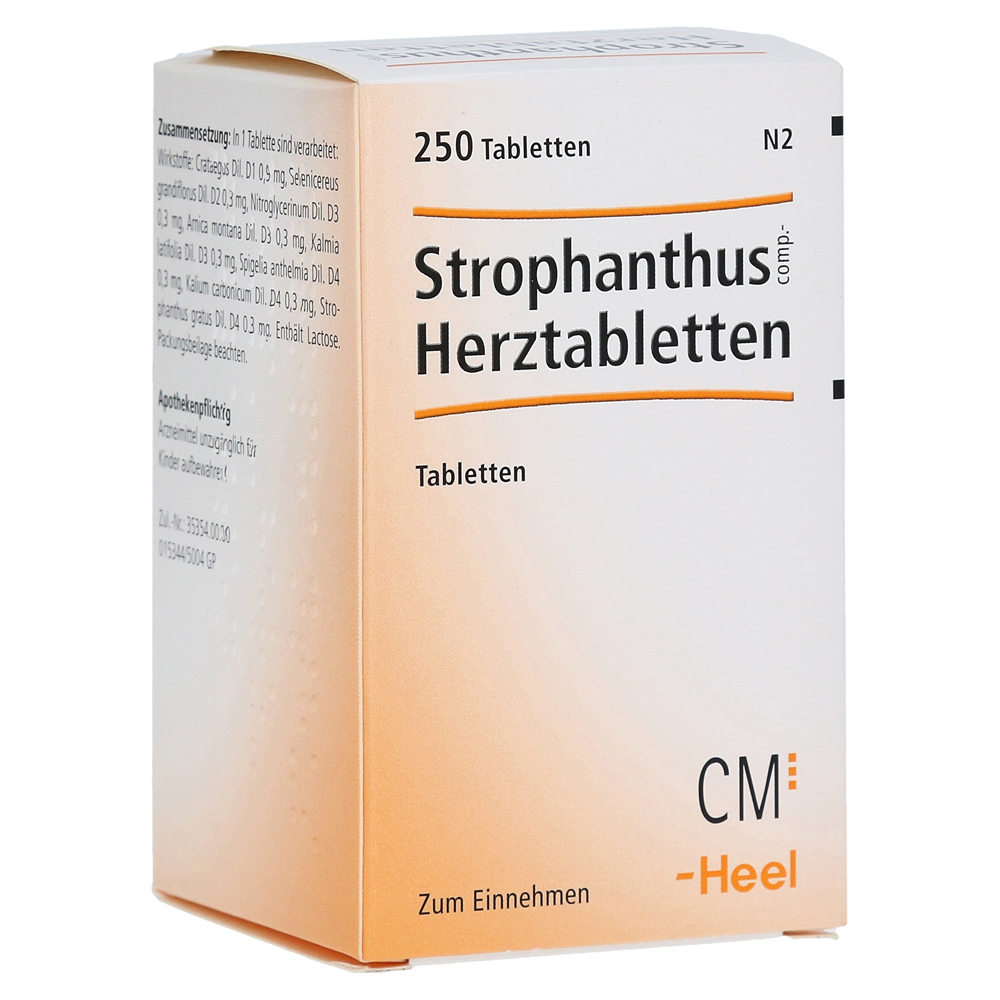 STROPHANTHUS COMP.Herztabletten 250 Stück
