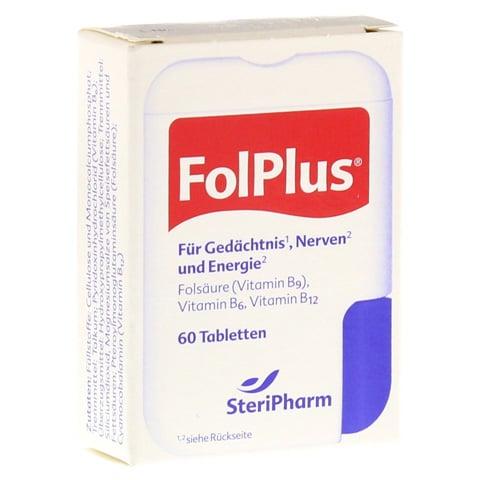 FOL PLUS laktosefrei Tabletten 60 Stück