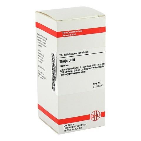 THUJA D 30 Tabletten 200 St�ck