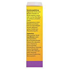 CENTROVISION Lutein 15 mg direkt Granulat 28 St�ck - Rechte Seite