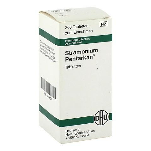 STRAMONIUM PENTARKAN Tabletten 200 St�ck N2