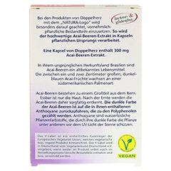 DOPPELHERZ Acai-Beeren Extrakt Kapseln 30 St�ck - R�ckseite