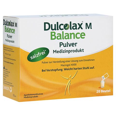 DULCOLAX M Balance Pulver Medizinprodukt 20x10 Gramm