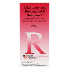 Erkältungs- und Rheumabad R Hofmanns 250 Milliliter - Rückseite