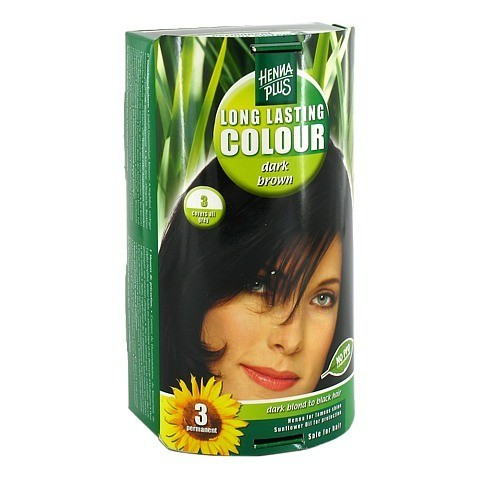 HENNAPLUS Long Lasting dark brown 3 100 Milliliter