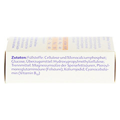 Folio forte+B12 Tabletten 120 Stück - Linke Seite