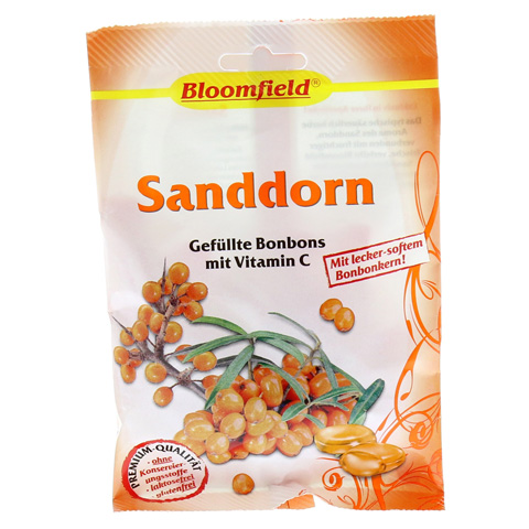 BLOOMFIELD Sanddorn gef.Bonbons 75 Gramm