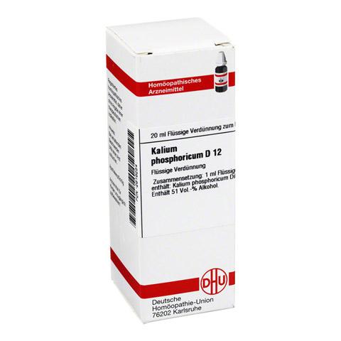 KALIUM PHOSPHORICUM D 12 Dilution 20 Milliliter N1