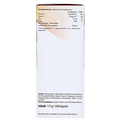 MANTRA Weihrauch Kapseln Vitamin E Zink u.Selen 200 Stück - Rechte Seite