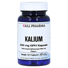 KALIUM 200 mg GPH Kapseln 60 Stück