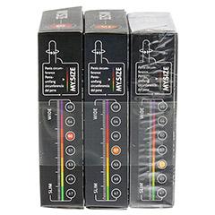 MYSIZE Testpack 53 57 60 Kondome 3x3 Stück - Rechte Seite