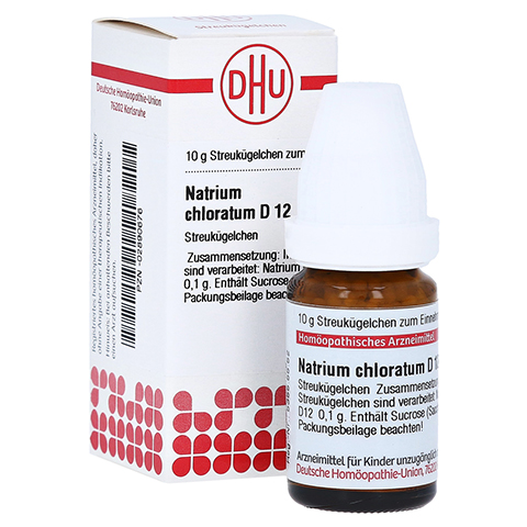 NATRIUM CHLORATUM D 12 Globuli 10 Gramm N1