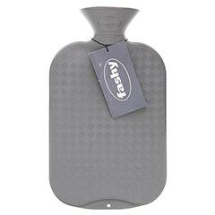FASHY Wärmflasche glatt anthrazit 1 Stück
