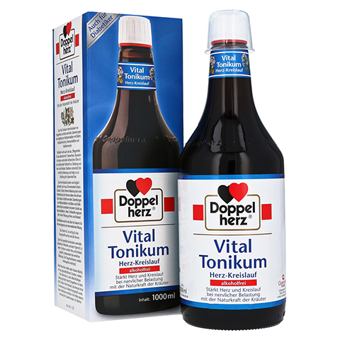 Doppelherz Vital Tonikum Herz-Kreislauf alkoholfrei 1000 Milliliter
