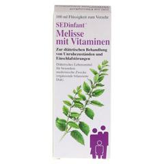 SEDINFANT Melisse mit Vitaminen flüssig 100 Milliliter - Vorderseite