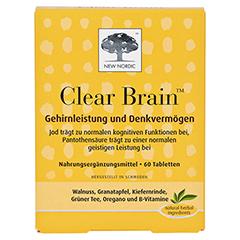 CLEAR BRAIN Tabletten 60 Stück - Vorderseite