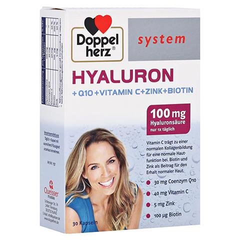 DOPPELHERZ Hyaluron system Kapseln 30 St�ck