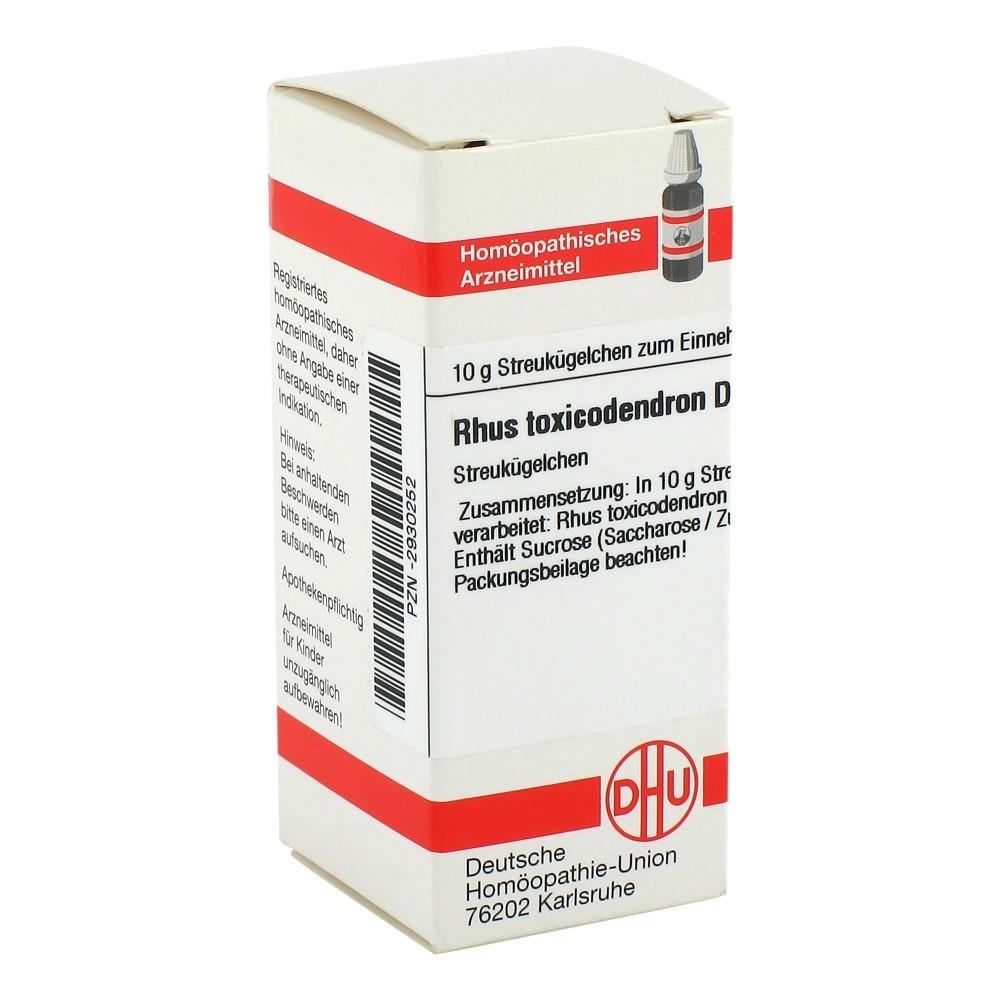 RHUS TOXICODENDRON D 200 Globuli 10 Gramm