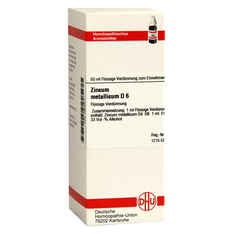 ZINCUM METALLICUM D 6 Dilution 50 Milliliter N1