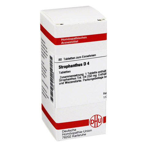 STROPHANTHUS D 4 Tabletten 80 Stück N1