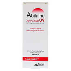 ABILAINE ADVANCED UV Creme LSF 15 30 Milliliter - Rückseite