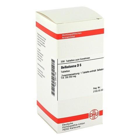 BELLADONNA D 6 Tabletten 200 Stück N2