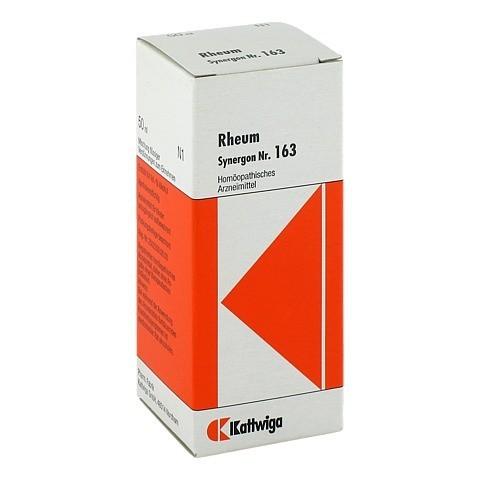 SYNERGON KOMPLEX 163 Rheum Tropfen 50 Milliliter N1