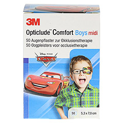 Opticlude 3M Comfort Disney Pflaster Boys midi 50 Stück - Vorderseite