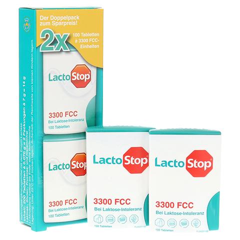 LACTOSTOP 3.300 FCC Tabletten Klickspender Dop.Pa. 2x100 St�ck