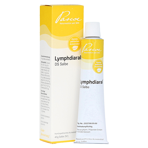 LYMPHDIARAL DS Salbe 40 Gramm N1