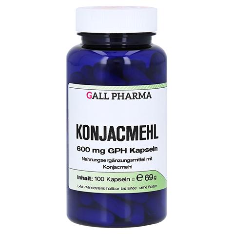 KONJACMEHL 600 mg Kapseln 100 St�ck